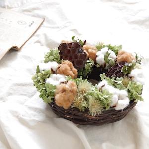 アレンジメント リース ギフト 花 プレゼント 誕生日 結婚祝い 開業祝い 開店祝い  内祝 新築祝い インテリア ドライフラワー|kajioso