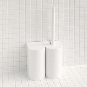 マーナ SLIM トイレポット 全3色 MARNA ポット おしゃれ スリム コンパクト シンプル トイレ用品 大掃除|kajitano