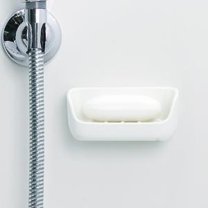 マーナ マグネット 石けん置き ホワイト 石鹸置き マグネット 浴室 収納 石けん台 洗面所 きれいに暮らす 石けんケース|kajitano