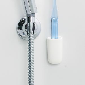 マーナ マグネット 歯ブラシホルダー ホワイト 歯ブラシ掛け 歯ブラシスタンド 収納 浴室 洗面所 きれいに暮らす マグネット|kajitano