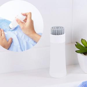 マーナ 部分洗い洗濯ブラシ ホワイト ランドリーブラシ ミニブラシ きれいに暮らす たわし おしゃれ シンプル 部分洗い marna|kajitano
