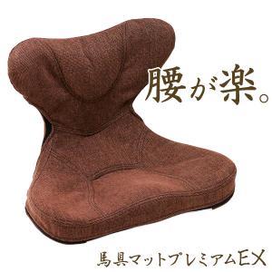 骨盤矯正 椅子 座椅子 腰痛 クッション 姿勢矯正 骨盤座椅子 馬具マットプレミアムEX|kajitano