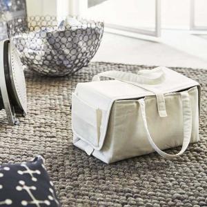 アイロン収納マット タワー  ランドリー収納 アイロン バッグ 蓋付き アイロン用収納マット タワー YAMAZAKI tower ホワイト ブラック おしゃれ|kajitano