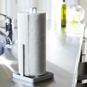 キッチンペーパーホルダー タワー  tower ペーパーホルダー 黒 白|kajitano