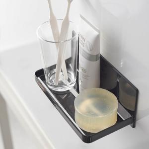 マグネットバスルームラック タワー  マグネット ソープホルダー マグネット かわいい おしゃれ マグネット キッチン 収納 お風呂 冷蔵庫 浴室|kajitano
