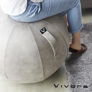 バランスボール チェア vivora ビボラ シーティングボール ルーノ レザーレット トレーニング エクササイズ 体幹 ヨガ 姿勢 骨盤 椅子 おしゃれ|kajitano