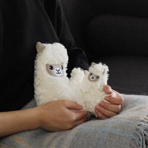ハガブル 親子セット ホットエコウォーマー ポケットパルズ セット 電子レンジ カイロ 湯たんぽ 冷え性 かわいい 動物 温活 北欧|kajitano