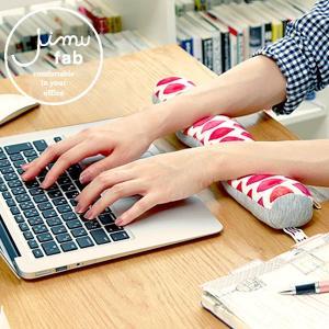 アームレスト キーボード JIMU fab ジムファブ パソコン クッション リストレスト オフィス|kajitano