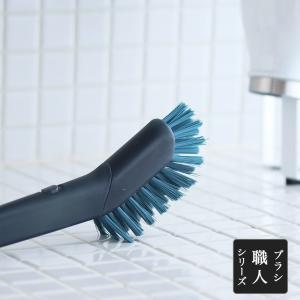 キッチンブラシ ブラシ職人シリーズ 掃除 キッチン 台所 たわし 水回り フライパン洗い ブラシ 日本製|kajitano