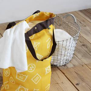 ハローサンシャイン ランドリーバッグ 洗濯ネット コインランドリー 収納 乾燥機 おしゃれ ワイシャツ ランドリーバッグ|kajitano