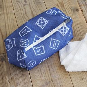 ハローサンシャイン ランドリーポーチバッグ 洗濯ネット 収納 おしゃれ ランドリーネット コインランドリー 網 衣類乾燥機対応|kajitano