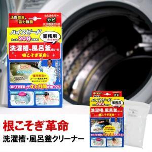 根こそぎ革命 1回分 洗濯槽 クリーナー カビ取り 風呂釜 掃除 宮崎化学 液体洗剤 洗濯機 ドラム式 全自動洗濯機 洗浄剤 ランドリー|kajitano