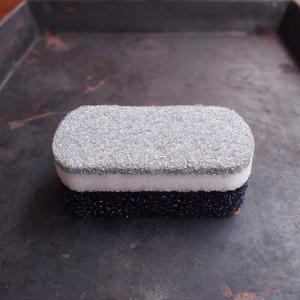 SMARTHOME トリプルスポンジ ブラック スポンジ 黒 スポンジ ブラック オーエ スマートホーム 食器用 グラス用 鍋・フライパン用 キッチン 黒|kajitano