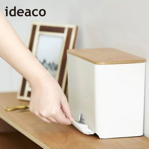 マスクディスペンサー 60 ideaco マスクケース 収納 小物収納 マスク 大容量 ふた付き 使い捨てマスク 木製 インテリア おしゃれ 北欧 イデアコ|kajitano