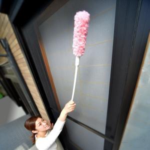 セイエイ あみ戸びっクリーンロングタイプ ピンク 網戸 アミ戸 ガラス掃除用品 びっくりーん サッシ クリーナー たわし 大掃除|kajitano