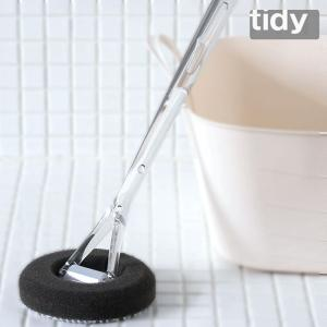 tidy バススポンジ  バス用 スポンジ 風呂 掃除 ブラシ バスタブ 浴槽 浴室 お風呂 バススポンジ バスブラシ 大掃除|kajitano