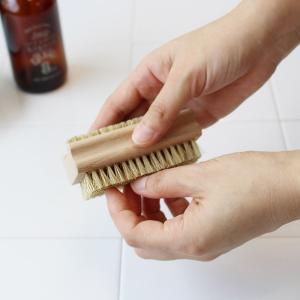 REDECKER レデッカー ネイルブラシ(ソフト豚毛)  つめブラシ 爪 ウッド やさしい 毛 豚毛|kajitano