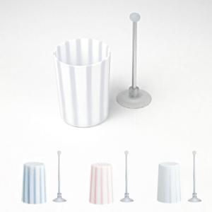 マーナ 歯磨き コップ 全4色 プラスチックコップ 割れない コップスタンド スタンド 洗面|kajitano