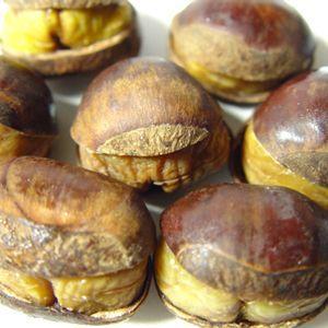 冷凍栗 笑い栗 1kg  天津甘栗に匹敵する美味しさ!自然解凍で簡単手軽に食べられる栗