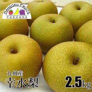 九州産和梨(幸水梨) 2.5kg|kajitsumura