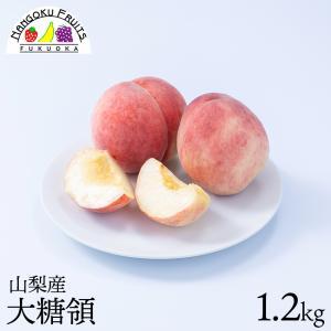 桃の名産地!山梨産ブランド桃・大糖領2玉 kajitsumura