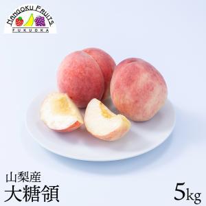 桃の名産地!山梨産ブランド桃・大糖領5kg kajitsumura