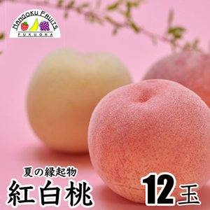 紅白桃12玉 kajitsumura