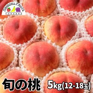目利き桃 5kg箱 kajitsumura