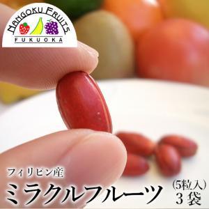メール便 ミラクルフルーツ 3袋|kajitsumura
