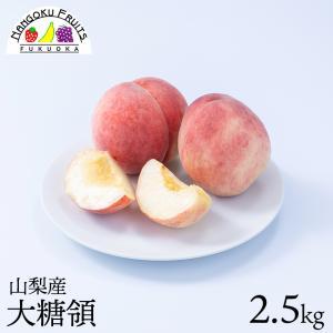 桃の名産地!山梨産ブランド桃・大糖領6玉  kajitsumura