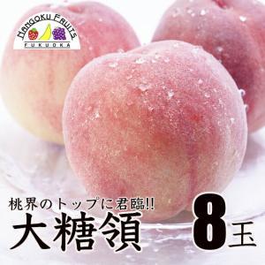 桃の名産地!山梨産ブランド桃・大糖領8玉  kajitsumura