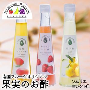 南国フルーツオリジナル・果実の「お酢」ソムリエセレクトC|kajitsumura