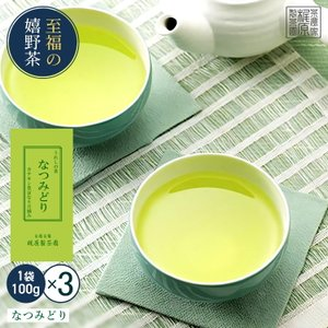 うれしの茶(100g×3)お茶 日本茶 緑茶 煎茶 茶葉 玉緑茶 ぐり茶 九州 嬉野茶
