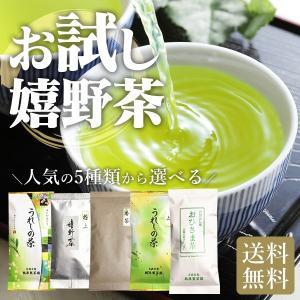 【初回限定】お試し嬉野茶 業務用300gから極上茶50gまで すぐ出るよく出るしっかり出る力強い茶葉
