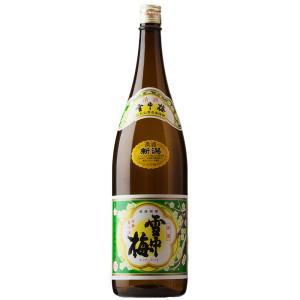 雪中梅 普通酒 甘口 丸山酒造場 新潟 上越 日本酒 1800ml