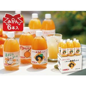 みかんジュース 愛媛みかんジュース(6本)