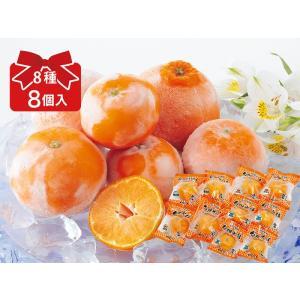 旬柑氷結・8種冷凍みかんプチセット