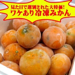 ワケあり冷凍みかん約3kg(バラ詰め)