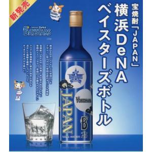 宝酒造 甲類焼酎 25度 JAPAN 横浜DeNAベイスターズボトル 700ml 1ケース(6本)