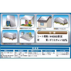 万能防水UVエースシート(大)5.4×5.4m kakashiya