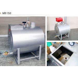 無煙薪ボイラMB150 給湯・暖房・消雪・熱湯で殺菌 ・殺虫・除草 75℃で大腸菌もクリア kakashiya