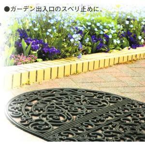 ガーデンマット 半円 kakashiya