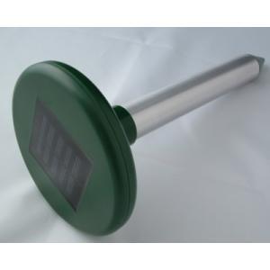 ソーラー式アルミもぐら防除器 太陽の光を電力として利用!|kakashiya