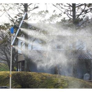 熱中症予防に!ビヨーンとのび〜る!魔法のミストスタンド 冷たい霧で暑い夏をクールダウン kakashiya