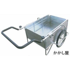 アルミリヤカーDX  ノーパンクタイヤ使用|kakashiya