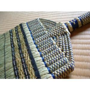 手編み長柄箒 厳選された良質の草を使用 東型の15玉仕上げ|kakashiya