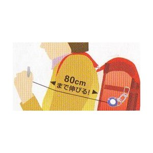 防犯・熊よけホイッスル リュックやランドセルに簡単取付!【メール便で送料無料】|kakashiya