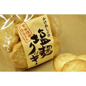 塩麹クッキー 20枚入り 宮古の塩 龍泉洞の水使用 kakeashinokai