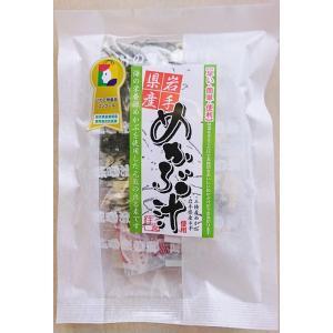 岩手県産 めかぶ汁 4食入り インスタント 味噌汁 即席 みそ汁|kakeashinokai