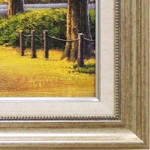 絵画 油絵 神宮外苑いちょう並木 (木村由記夫)  【肉筆】【油絵】【日本の風景】【10号】|kakejiku|03